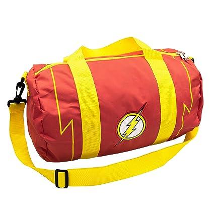 DC Comics The Flash Logo - Bolsa de Lona con Cremallera para ...