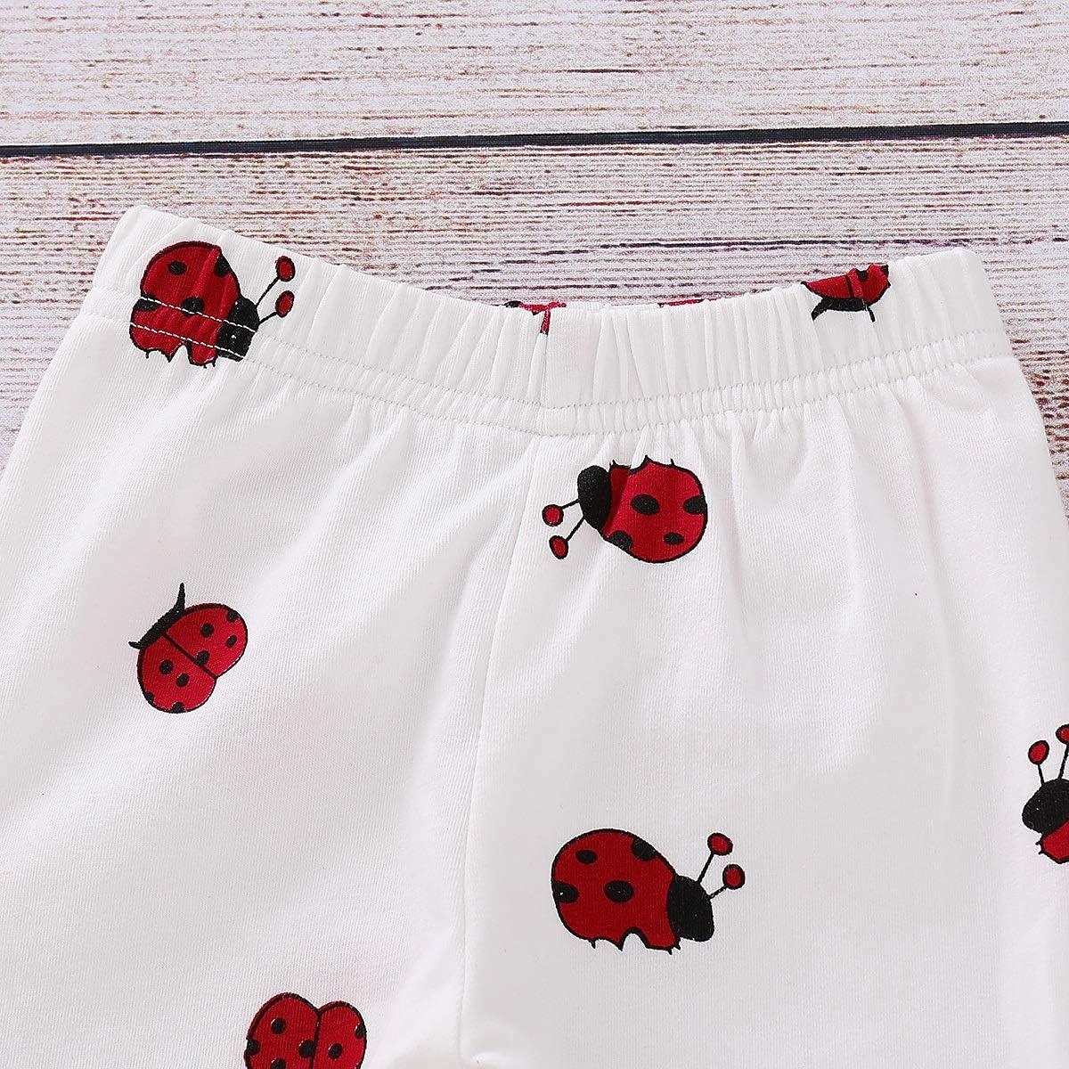2PCS Bébé Enfant Filles Vêtements Papillon Cardigan Tops Pantalons Tenues Ensemble