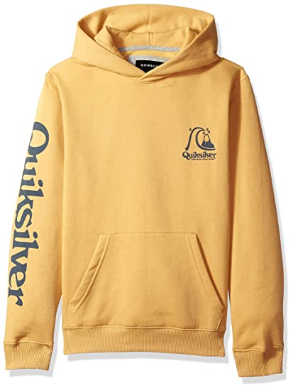 reputable site f2d6b 160e6 Quiksilver Boy s Spring Roll Hood Youth Fleece Sweatshirt  Amazon.co.uk   Clothing