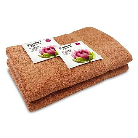 De Cuidado (4 piezas, 2 toallas aprox. 70 x 140 cm, 100
