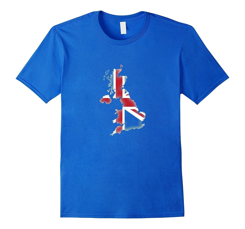 UK Flag Fill | British Pride Brexit Great Britain T-shirt-BN