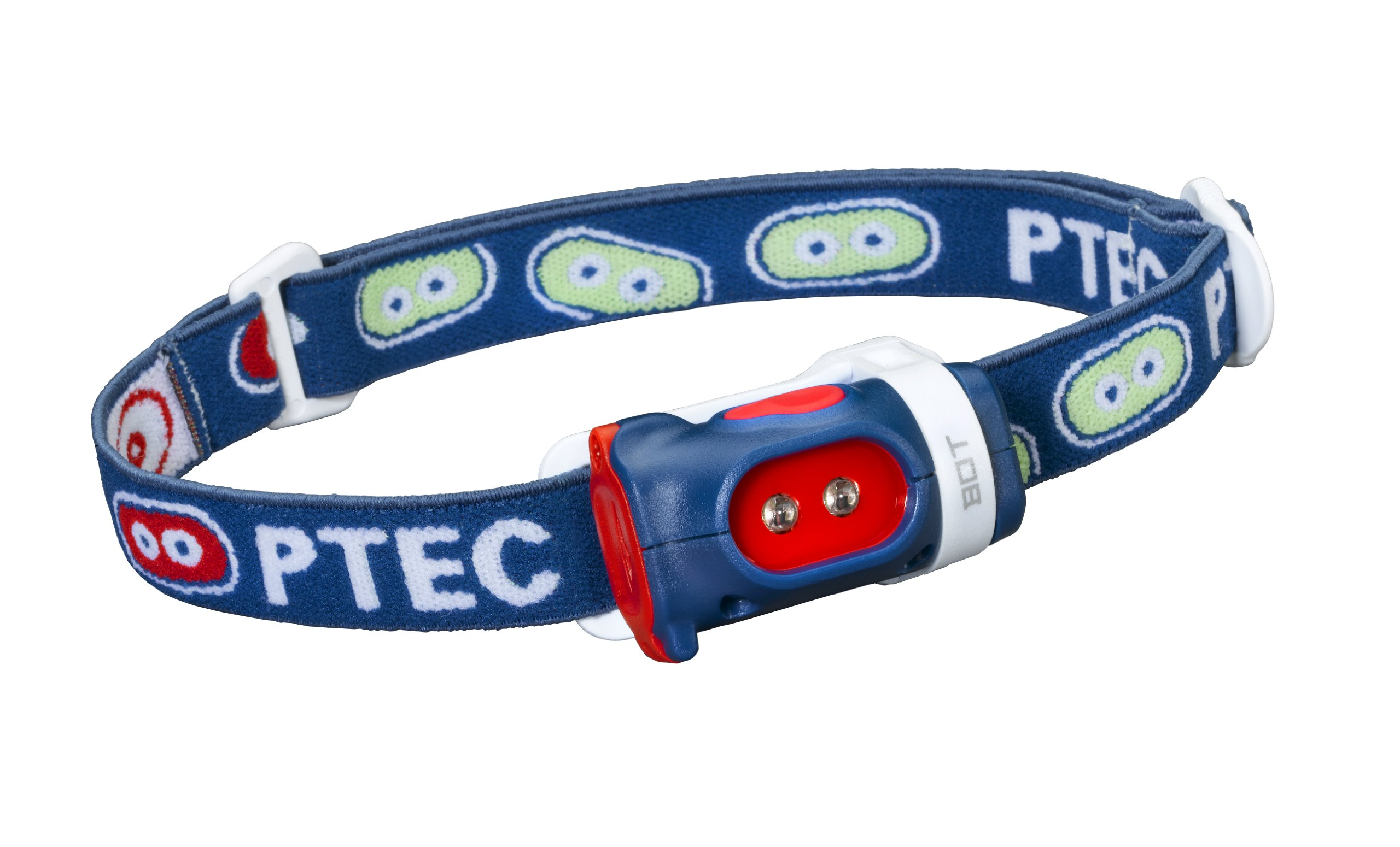 Princeton Tec Bot Headlamp (15 Lumens, Blue/Red) by Princeton Tec
