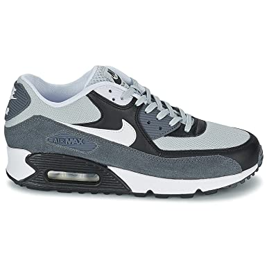 official photos f21a6 20661 Nike Air Max 90 Essential Schuhe grey mist-white-black-dark grey- 47   Amazon.co.uk  Shoes   Bags