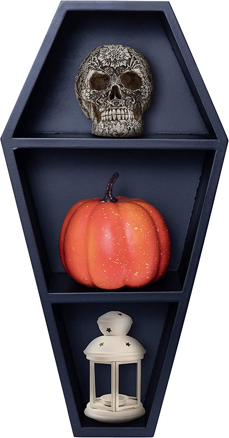 Tabletop and Wall Coffin Shelves