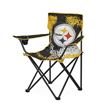 Exceptionnel NFL Pittsburgh Steelers Tween Camp Chair