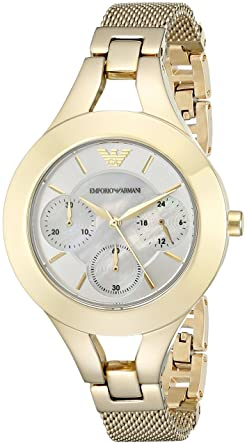 b01e89f19a Image Unavailable. Image not available for. Colour: Emporio Armani Analog  Multi-Colour Dial Women's Watch-AR7390