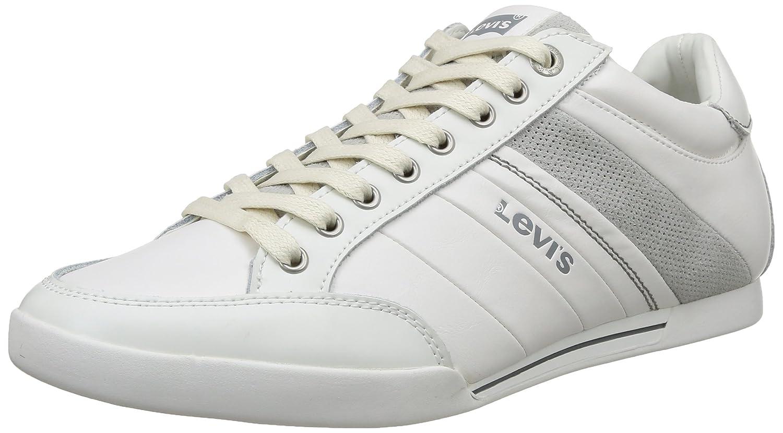 Levi'S Turlock Refresh, Zapatillas para Hombre 41 EU|Blanco - Blanc (50)