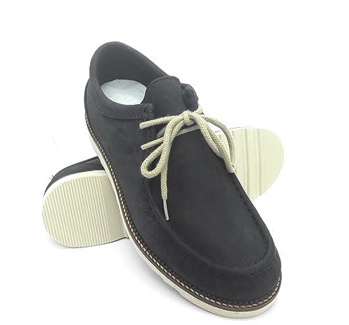 super images bon marché Zerimar Chaussures De Style Décontracté Fait De La Taille Bleu Marine En Dentelle Cuir 41 vente chaude rabais vente meilleur endroit hXNU9Z