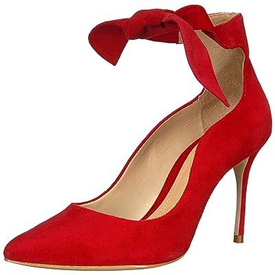 SCHUTZ Women's Princesa Pump, Scarlet, 8.5 M US: Shoes
