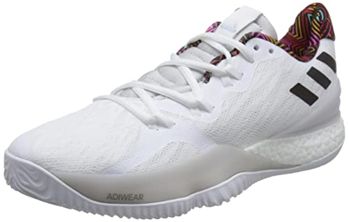 e4bccc35dc558 adidas Men's Crazy Light Boost 2018 Basketball Shoes, White Ftwwht ...