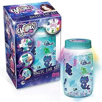 d9c46279f352 Canal Toys Magic Jar Glow CREA tu diseño 18x13cm SGD002  Amazon.es   Juguetes y juegos