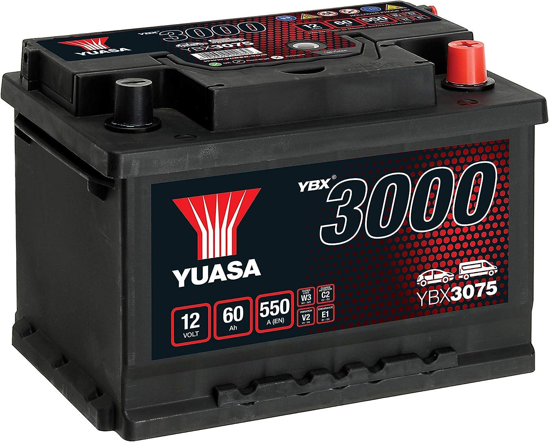 Yuasa YBX3075 Batterie de d/émarrage SMF