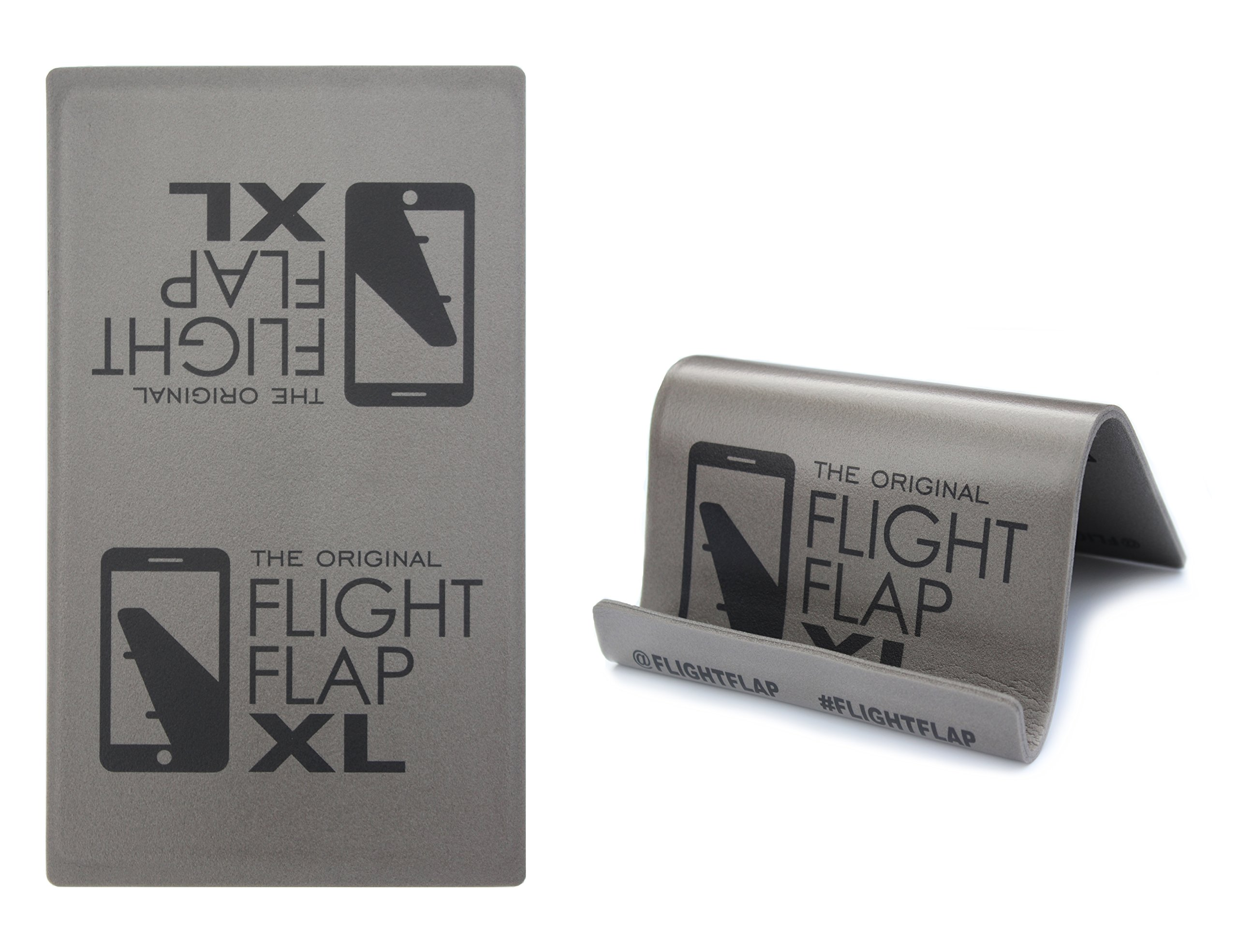 Flight Flap XL - Tablet Holder, Designed for Air Travel - Flying, Traveling, In-Flight Stand for iPad, Surface and Kindle tablet devices