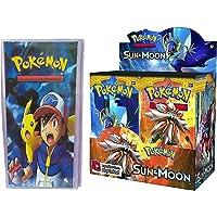 Pokemon Sun & Moon GX Booster Cards 36 Packs (Free 3 Pocket 1 Album)