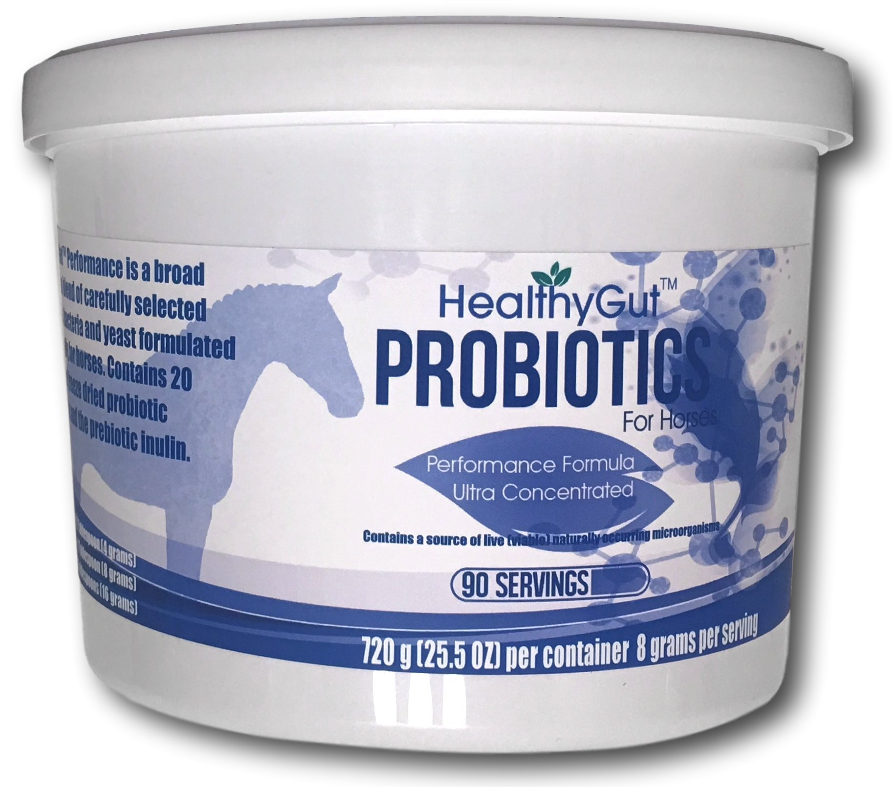 HealthyGut Performance Probiotics For Horses (90) by Equa Holistics (Image #1)