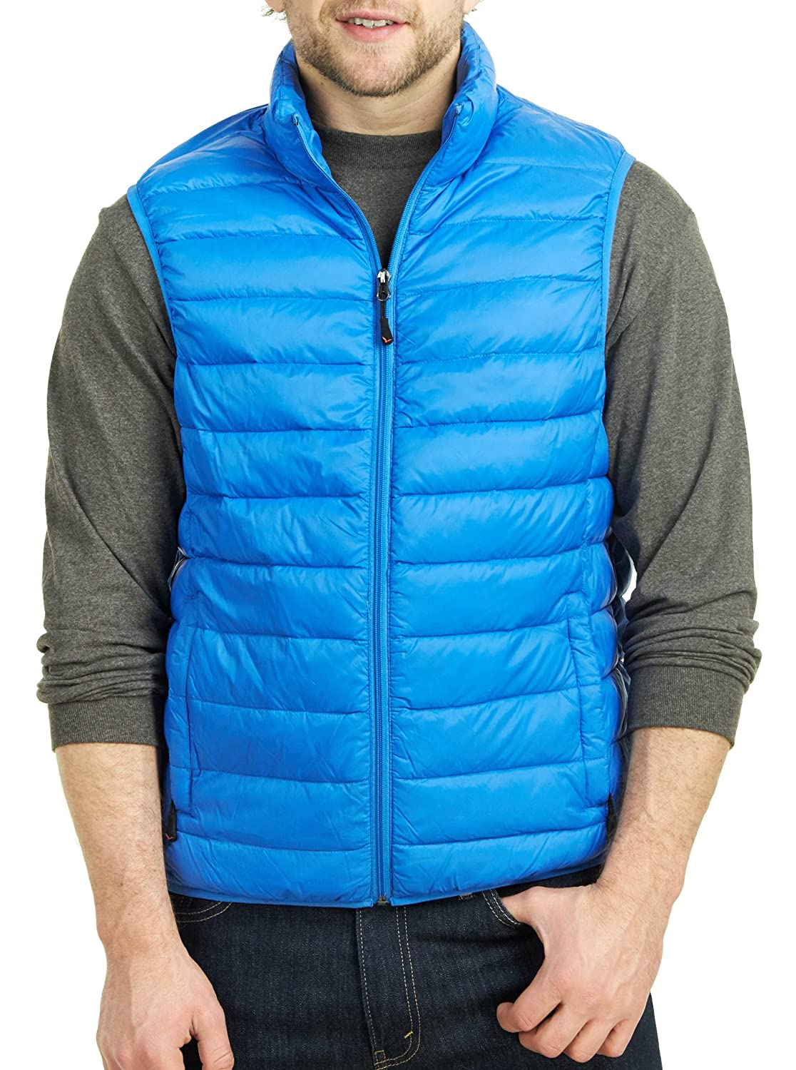 Hawke & Co Men's Packable Down Puffer Performance Vest at Amazon ...