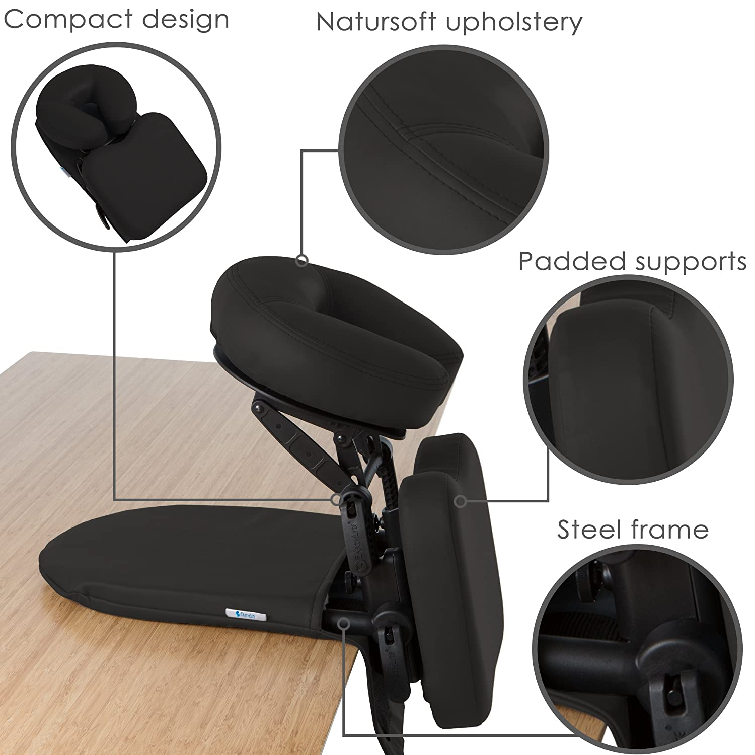 EARTHLITE Travelmate Massage Support System Package Face Down