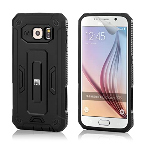 32nd Duro Defender Shockproof – Carcasa rígida by 32 nd® – Disponible para Samsung Galaxy S6 S6edge S7 s7edge A3 A5 J5 Grand Prime Negro Hard Defender ...