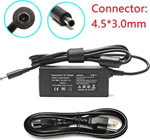 19.5V 2.31A 45W New AC Adapter Charger Power Cord for Dell Latitude 12 13 14 7350 7202 3379,XPS 11 12 13 15 9350 9360 9333 L321X L322X,17 7778 7779 Series,YTFJC 070VTC DA45NM131 DA45NM140 JT9DM 3RG0T