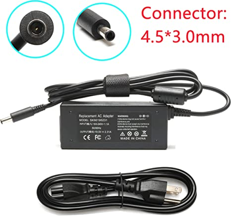 Genuine DELL Inspiron 11 3157 19.5V 2.31A 45W AC Charger Power Cord Adapter