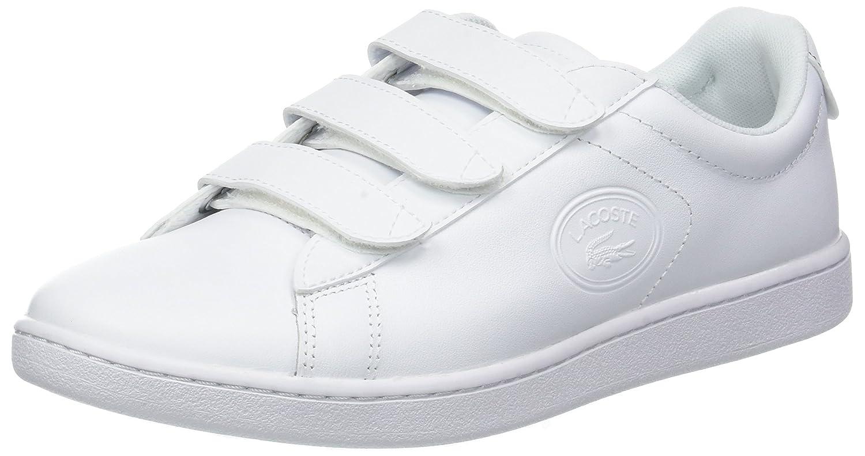 Lacoste Carnaby EVO Strap 3181 SPW, Zapatillas para Mujer 35.5 EU|Blanco (Wht/Wht 21g)