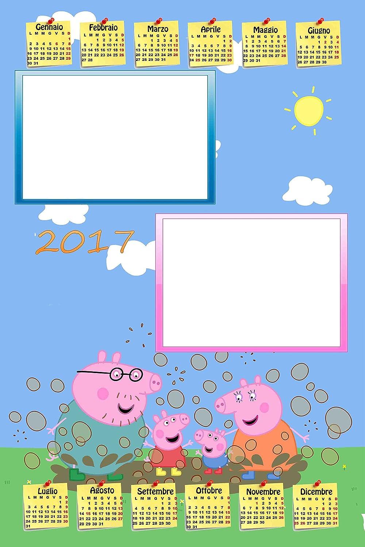 Personalisierte Kalender 2017 mit zwei Fotos, Art.339, Peppa Pig, Format 30 x 45, komplett von Bewerbungsset und fer34 Wand B01LYD1QF3    | Um Eine Hohe Bewunderung Gewinnen Und Ist Weit Verbreitet Trusted In-und