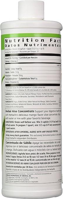 Herbalife Concentrado de aloe vera