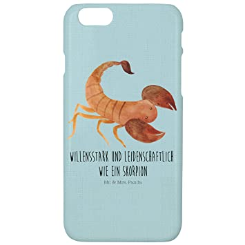 Mr Mrs Panda Iphone 6 6s Handyhülle Sternzeichen Skorpion