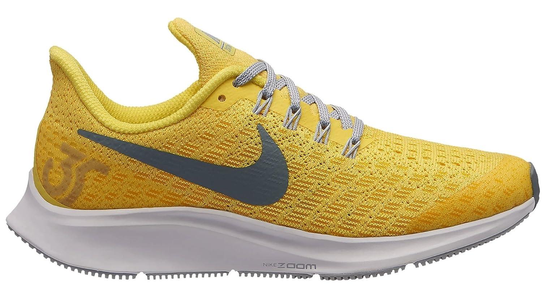 Nike Air Zoom Pegasus 35 (GS), Zapatillas de Running para Mujer 36.5 EU|Multicolor (Dynamic Yellow/Cool Grey/Amarillo 700)