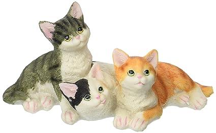 GSC Garsaco Colección de Gato Feline Animales Decoración Figura Decorativa