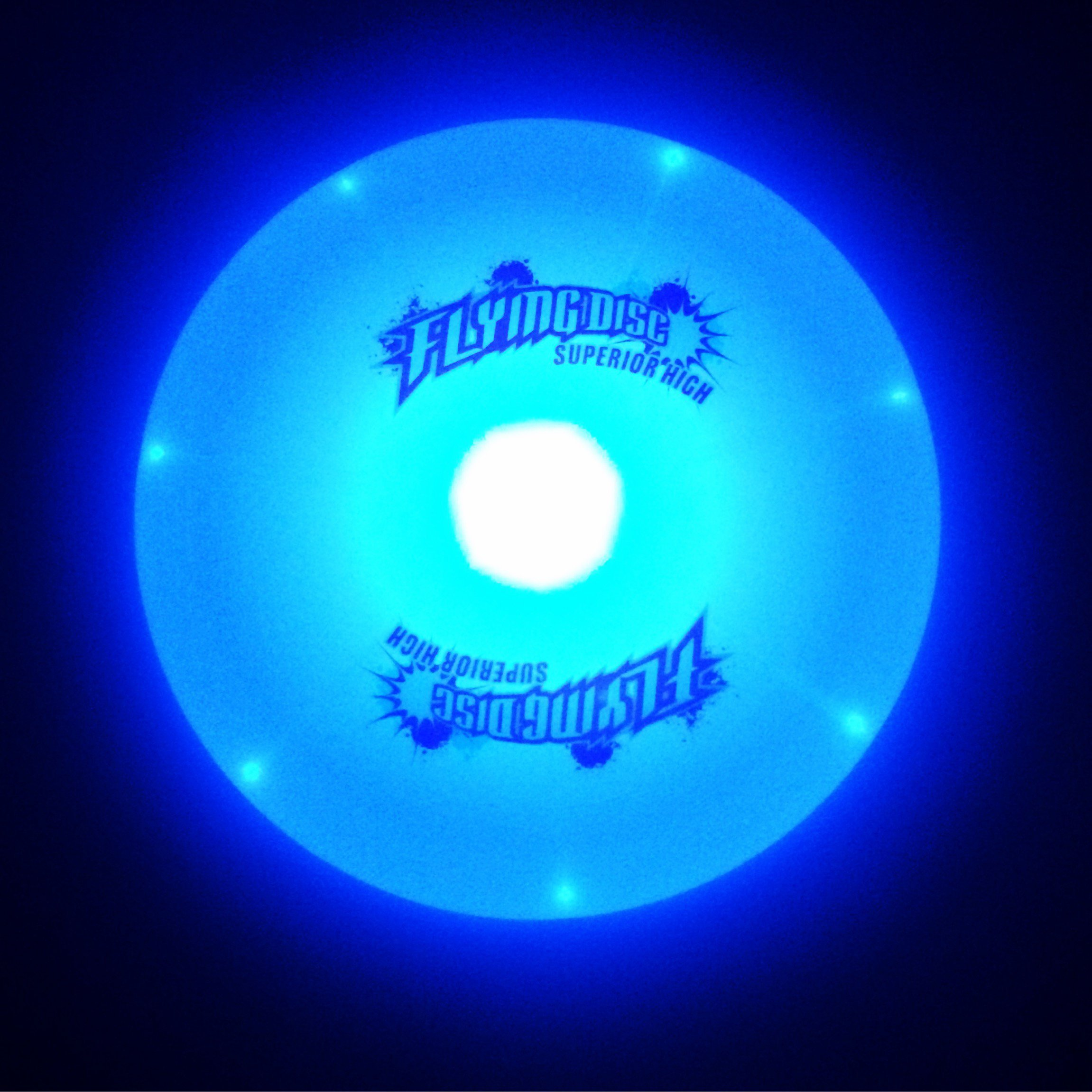 10in LED Light Up Flying Frisbee Disc