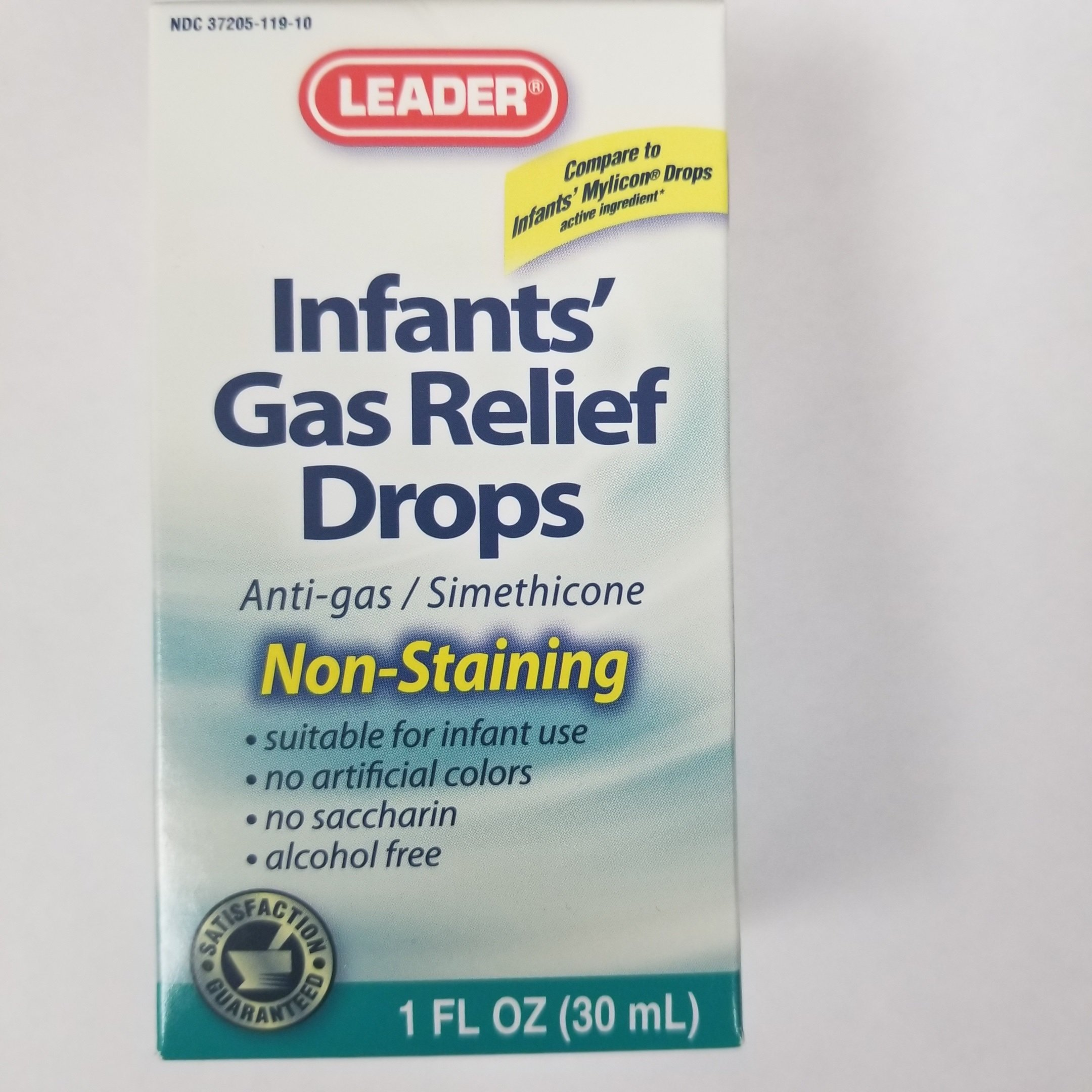 Leader Infants' Gas Relief Drops, 1oz.Each (Pack of 12)