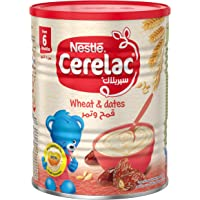 Nestle Cerelac Infant Cereal Wheat & Dates, Tin Pack, 400g