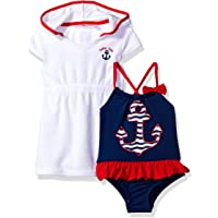 07dd26ddbc Amazon Best Sellers: Best Baby Girls' Swimwear Cover-Up Sets
