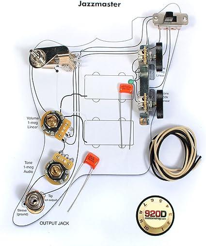 American Custom Stratocaster Tone Wiring Schematic