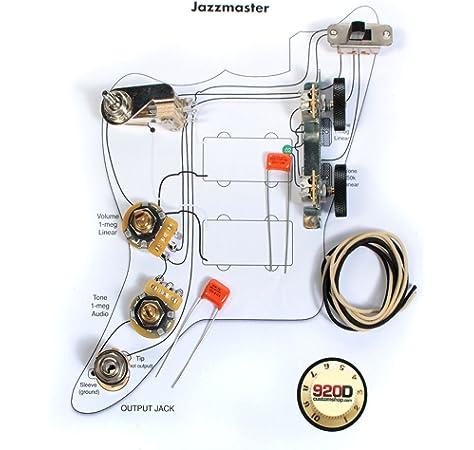Amazon.com: 920D Custom JMK-VINTAGE Offset Style Vintage Wiring Kit:  Musical InstrumentsAmazon.com