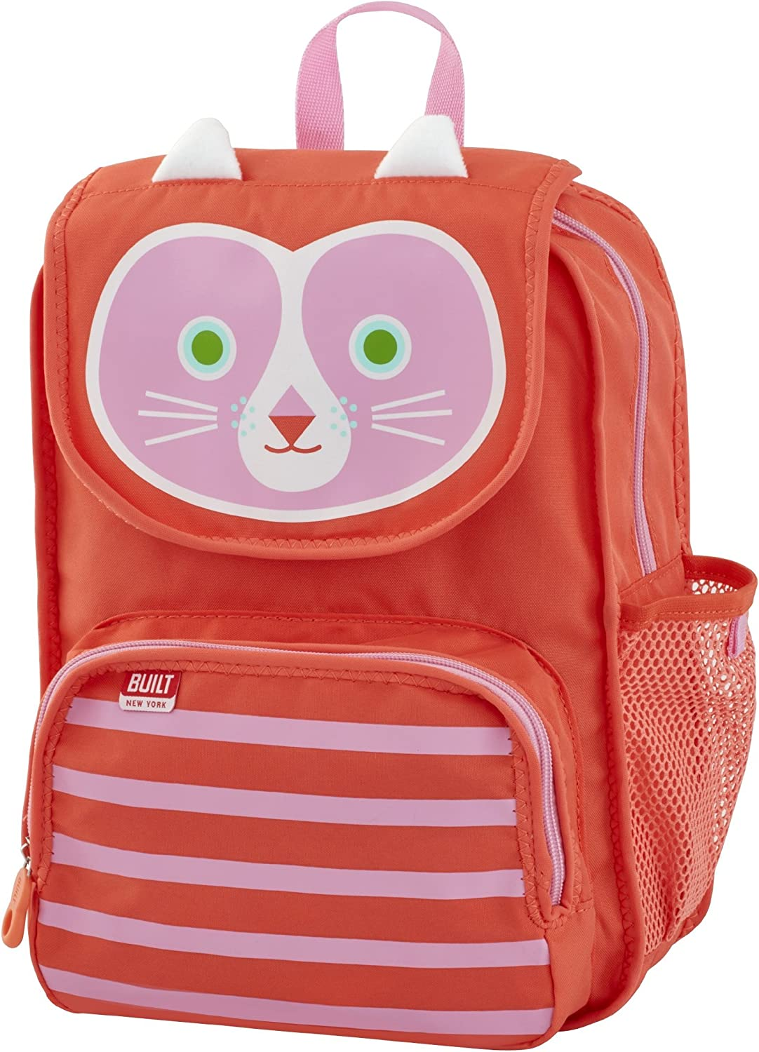 Built NY 5178570 Big Apple Buddies Water Resistant Polyester Backpack, Cornelia Cat