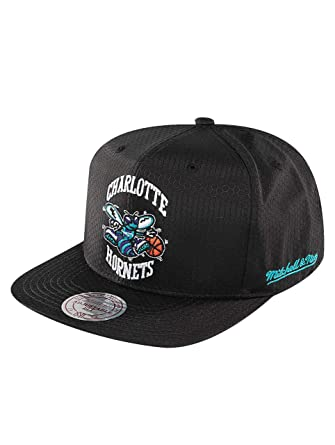 half off c9f1b 49128 ... adjustable hat 9baca 10d6a  where to buy mitchell ness men caps snapback  cap nba black ripstop honeycomb charlotte hornets black