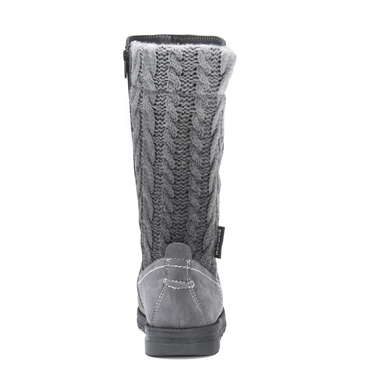 MUK LUKS Women's Stacy Fashion Boot B072K6R54K 7 B(M) US|Grey