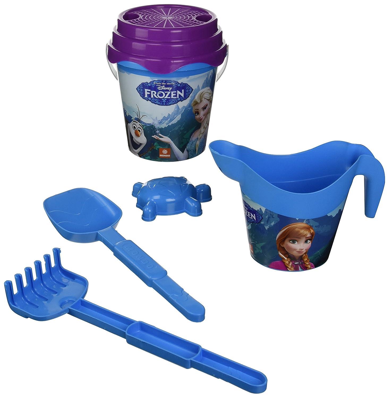 Set da Spiaggia Frozen Beach Bucket Set Mondo 28272