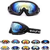 キッズ スキーゴーグル ゴーグル スノーボード スキー ミラーレンズ 10色選べる UVカット 男の子 女の子