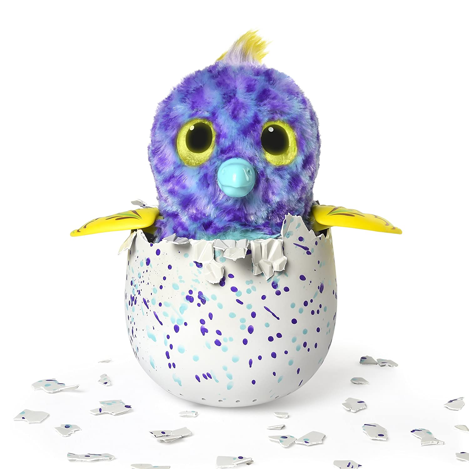Hatchimals Fabula Forest Styles and Colors May Vary Hatching Egg with Interactive Puffatoo or Tigrette by Spin Master