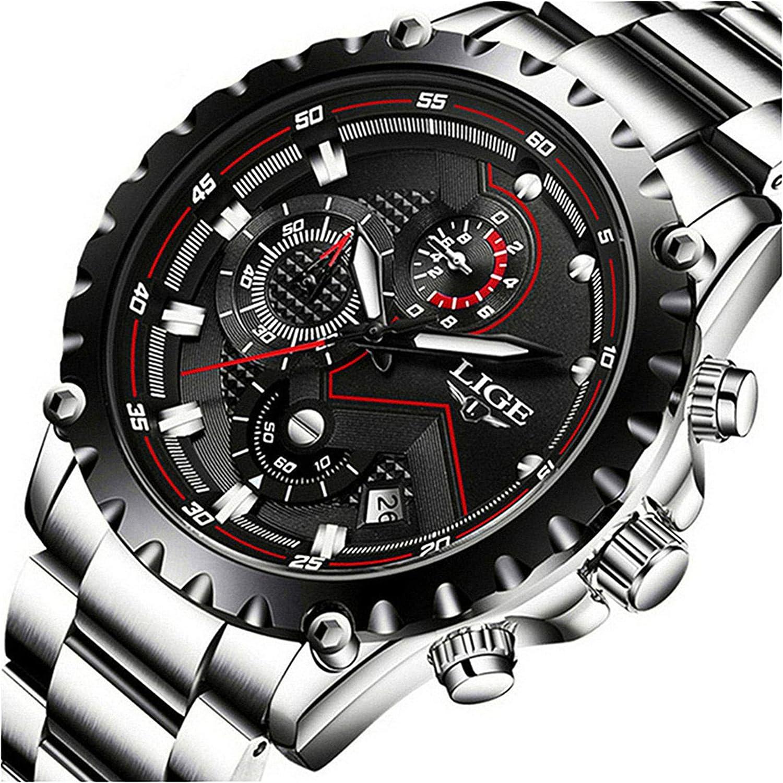 Amazon.com: Reloj de brazalete analógico de cuarzo para ...