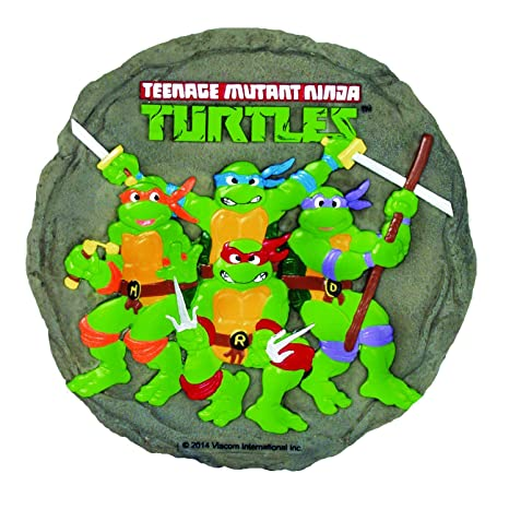 Amazon.com : Spoontiques Ninja Turtles Stepping Stone ...