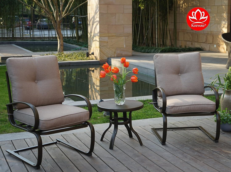 Amazon.com: Kozyard Susan - Juego de 3 muebles de jardín ...