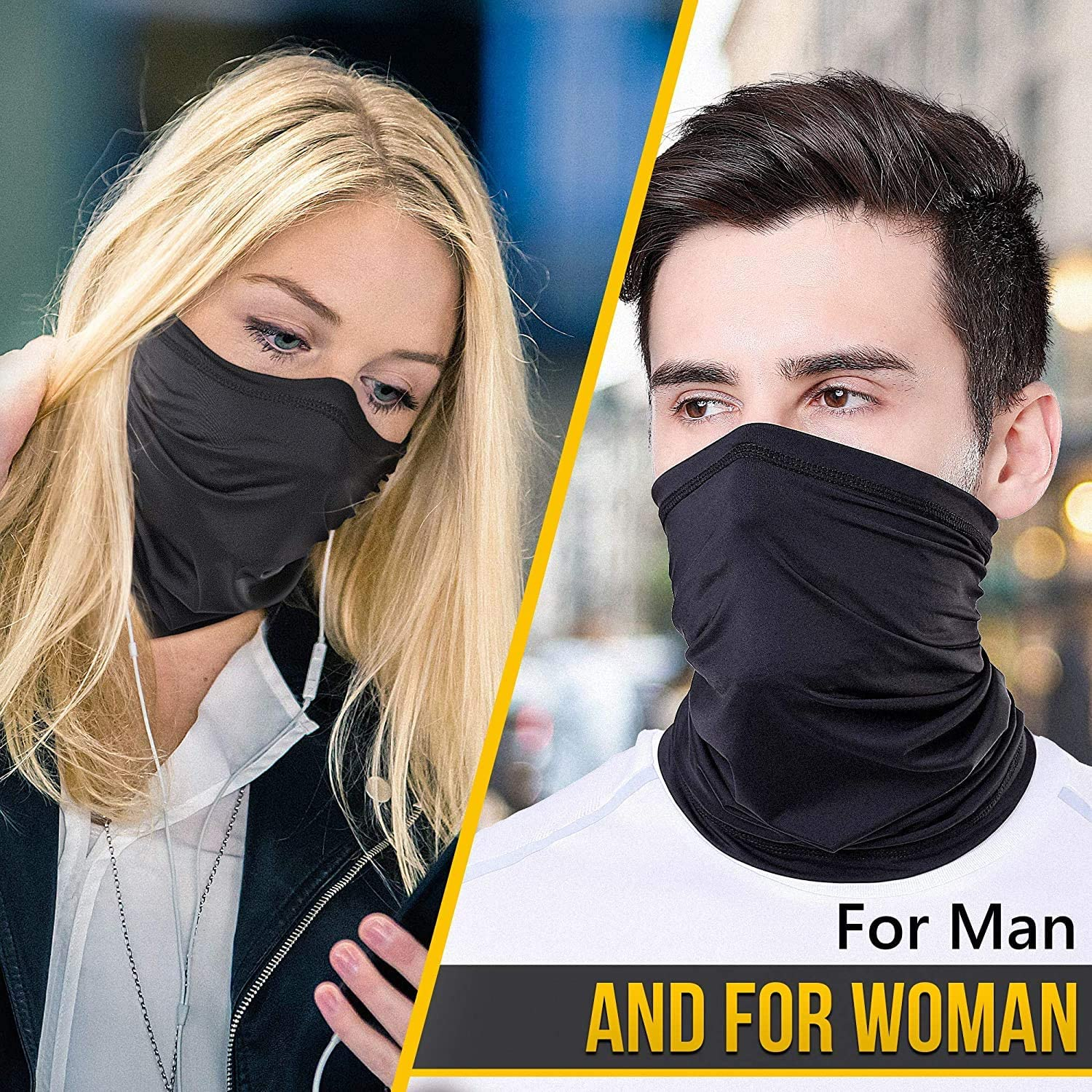 Bandanas Face Masks for Motorcycle Cycling Bike Outdoor Sports Hiking Full Face Mask Breathable Adjustable