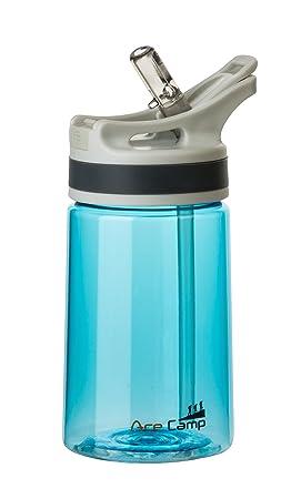 AceCamp Tritan springde CKEL – Botella (350 ML, sin BPA), Agua Botella