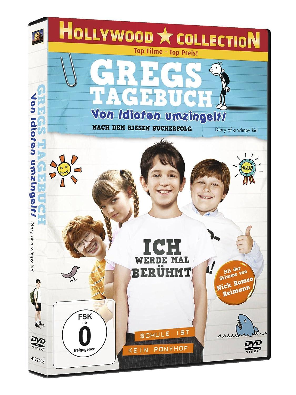 Gregs Tagebuch - Von Idioten umzingelt!: Amazon.de: Zachary Gordon ...