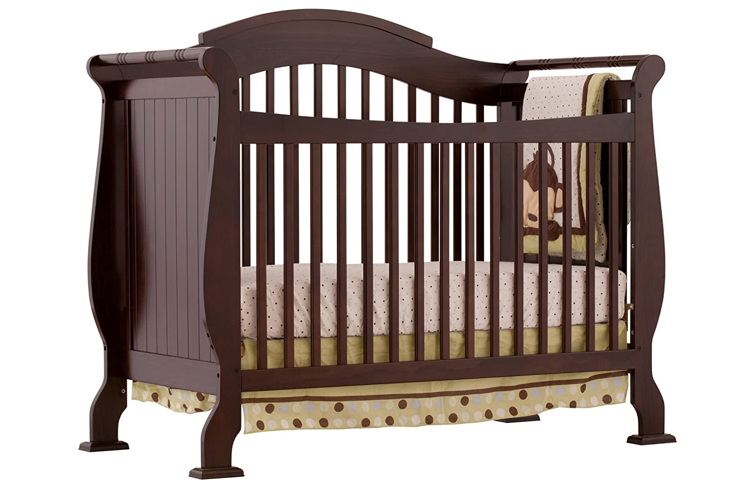 $179 (was $350) Storkcraft Valentia 4-in-1 Convertible Crib, Espresso