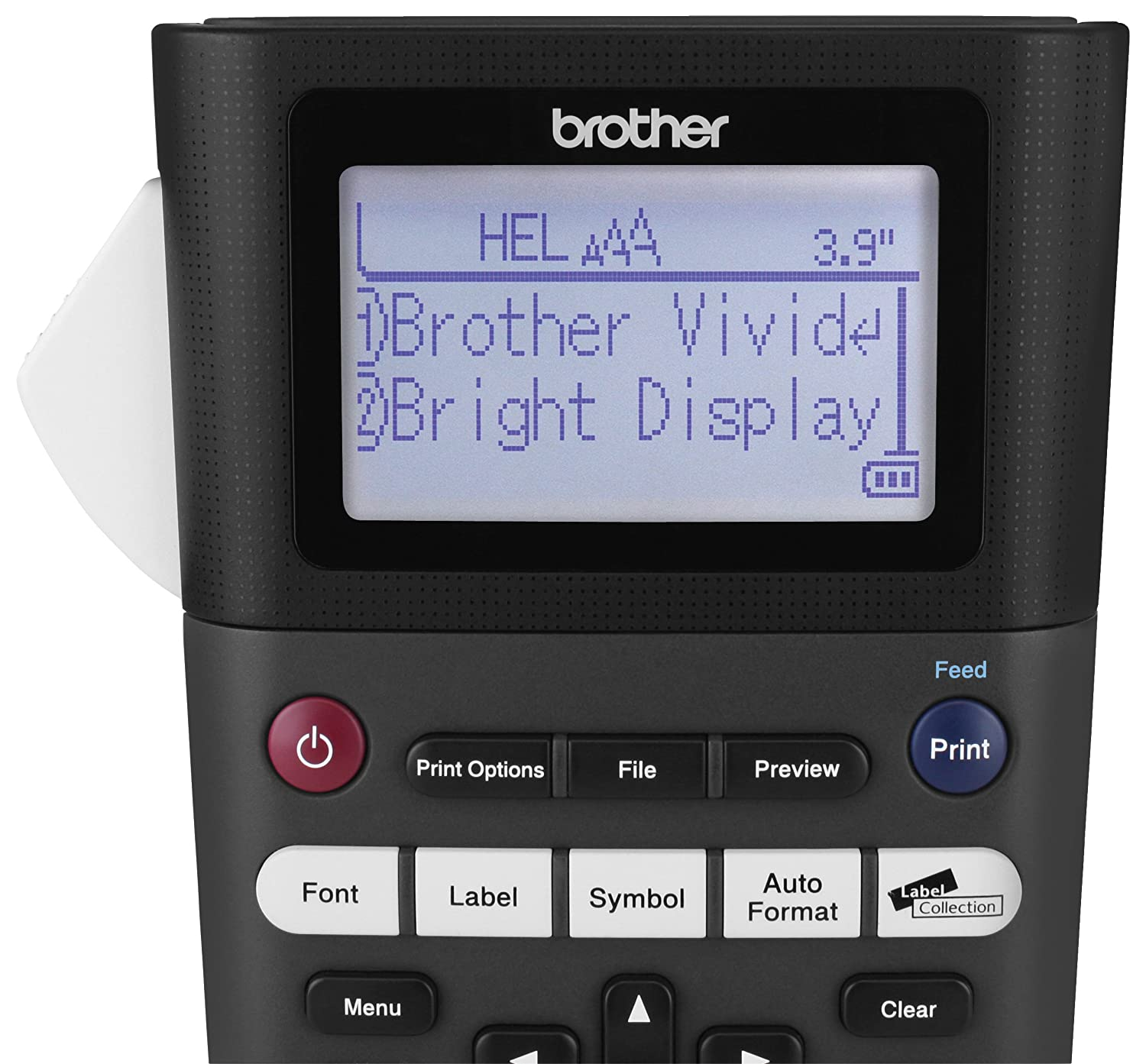 Brother P Touch Pth300 Portable Label Maker One Touch Formatting Vivid Bright Display Fast Printing Speeds Black